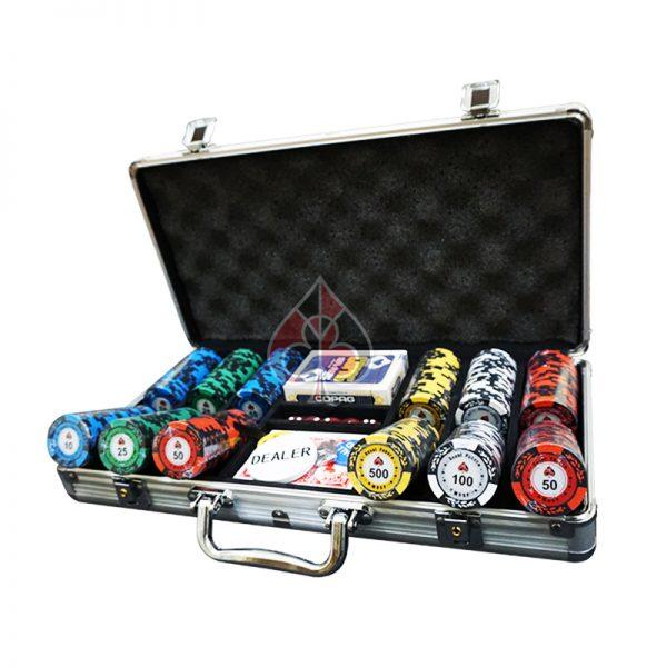 phỉnh poker royal casino cao cấp bộ 300 chip poker