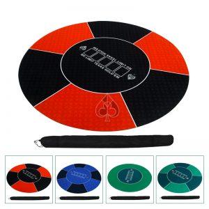 thảm tròn poker là từ chất liệu cao su cao cấp